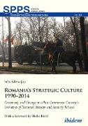 Cover-Bild zu Joja, Iulia-Sabina: Romania's Strategic Culture 1990-2014 (eBook)
