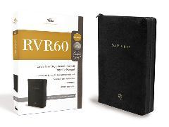 Cover-Bild zu Biblia RVR 1960 Edición Portátil con Cierre, Letra Grande, Tamaño Manual, Leathersoft, Negro, Edición Letra Roja / Spanish Bible RVR60 Lg Print