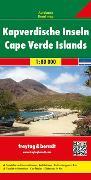 Cover-Bild zu Kapverdische Inseln, Autokarte 1:80.000. 1:80'000