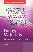 Cover-Bild zu Bruce, Duncan W. (Hrsg.): Energy Materials (eBook)