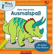 Cover-Bild zu Mein allererster Ausmalspaß. 80 starke Dino-Motive von Frey-Spieker, Raimund (Illustr.)