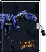 Cover-Bild zu Tagebuch - T-REX World - Top Secret von Frey-Spieker, Raimund (Illustr.)