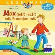 Cover-Bild zu Max geht nicht mit Fremden mit von Tielmann, Christian
