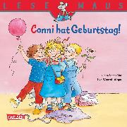 Cover-Bild zu LESEMAUS: Conni hat Geburtstag! (eBook) von Schneider, Liane