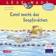 Cover-Bild zu LESEMAUS 6: Conni macht das Seepferdchen (Neuausgabe) von Schneider, Liane