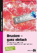 Cover-Bild zu Abbenhaus, Rosalia: Drucken - ganz einfach (eBook)