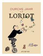 Cover-Bild zu Durchs Jahr mit Loriot von Loriot
