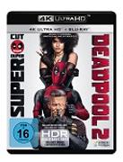 Cover-Bild zu David Leitch (Reg.): Deadpool 2 4K+2D + Bonus