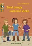 Cover-Bild zu Holthausen, Luise: Zwei Jungs und eine Zicke / Level 2. Schulausgabe