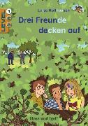 Cover-Bild zu Holthausen, Luise: Drei Freunde decken auf / Level 1. Schulausgabe