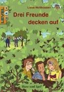 Cover-Bild zu Holthausen, Luise: Drei Freunde decken auf / Level 2. Schulausgabe