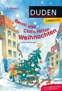 Cover-Bild zu Holthausen, Luise: Duden Leseprofi - Benni und Clara retten Weihnachten, 2. Klasse