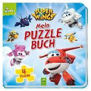 Cover-Bild zu Holthausen, Luise: Super Wings Mein Puzzlebuch