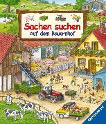 Cover-Bild zu Ravensburger Verlag GmbH (Hrsg.): Sachen suchen: Auf dem Bauernhof - Wimmelbuch ab 2 Jahren (eBook)