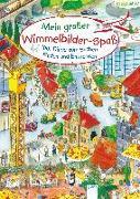 Cover-Bild zu Scholbeck, Sabine (Illustr.): Mein großer Wimmelbilderspaß. 1001 Dinge zum Suchen, Finden und Entdecken