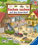 Cover-Bild zu Gernhäuser, Susanne: Sachen suchen: Auf dem Bauernhof - Wimmelbuch ab 2 Jahren