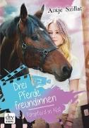 Cover-Bild zu Szillat, Antje: Drei Pferdefreundinnen - Filmpferd in Not (eBook)