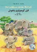Cover-Bild zu Volk, Katharina E.: Der schlaue kleine Elefant. Kinderbuch Deutsch-Persisch mit mehrsprachiger Audio-CD