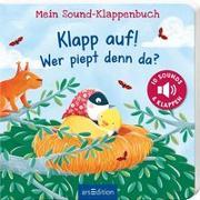 Cover-Bild zu Volk, Katharina E.: Mein Sound-Klappenbuch: Klapp auf! Wer piept denn da?