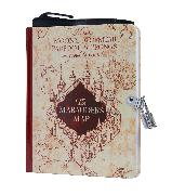 Cover-Bild zu Harry Potter: Marauder's Map Invisible Ink Lock & Key Diary von Insight Editions