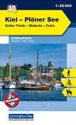 Cover-Bild zu Hallwag Kümmerly+Frey AG (Hrsg.): Kiel - Plöner See, Kieler Förde, Malente, Eutin. 1:50'000