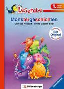 Cover-Bild zu Neudert, Cee: Monstergeschichten - Leserabe 1. Klasse - Erstlesebuch für Kinder ab 6 Jahren