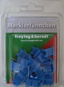 Cover-Bild zu Freytag-Berndt und Artaria KG (Hrsg.): Markierfähnchen wehend, Blau