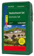 Cover-Bild zu Freytag-Berndt und Artaria KG (Hrsg.): Deutschland, Straßenkarten-Set 1:200.000. 1:200'000