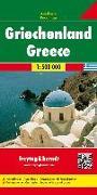 Cover-Bild zu Freytag-Berndt und Artaria KG (Hrsg.): Griechenland, Autokarte 1:500.000. 1:500'000
