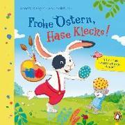 Cover-Bild zu Langen, Annette: Frohe Ostern, Hase Klecks!