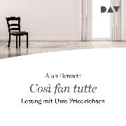 Cover-Bild zu Cosi fan tutte (Audio Download) von Bennett, Alan