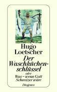 Cover-Bild zu Der Waschküchenschlüssel von Loetscher, Hugo