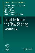 Cover-Bild zu Corrales Compagnucci, Marcelo (Hrsg.): Legal Tech and the New Sharing Economy (eBook)