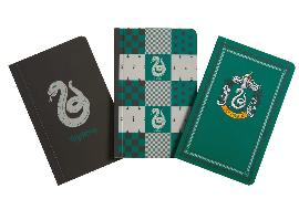 Cover-Bild zu Insight Editions: Harry Potter: Slytherin Pocket Notebook Collection (Set of 3)