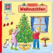 Cover-Bild zu WAS IST WAS Kindergarten, Band 13 Weihnachten von Weller-Essers, Andrea