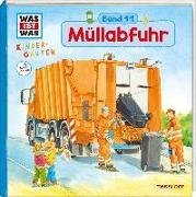 Cover-Bild zu WAS IST WAS Kindergarten, Band 11. Müllabfuhr von Stiefenhofer, Martin