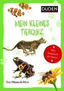 Cover-Bild zu Duden Minis (Band 24) - Mein kleines Tierquiz von Weller-Essers, Andrea