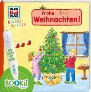 Cover-Bild zu BOOKii® WAS IST WAS Kindergarten Frohe Weihnachten! von Weller-Essers, Andrea