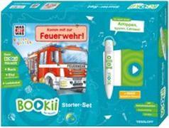 Cover-Bild zu BOOKii® Starter-Set. WAS IST WAS Kindergarten. Komm mit zur Feuerwehr! von Weller-Essers, Andrea