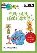 Cover-Bild zu Duden Minis (Band 44) - Meine kleine Monsterparty von Weller-Essers, Andrea