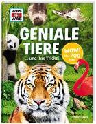 Cover-Bild zu WAS IST WAS Geniale Tiere ... und ihre Tricks von Weller-Essers, Andrea