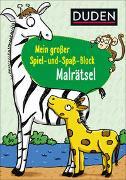 Cover-Bild zu Duden: Mein großer Spiel-und Spaßblock: Malrätsel von Weller-Essers, Andrea