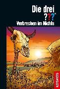 Cover-Bild zu Die drei ??? Verbrechen im Nichts (drei Fragezeichen) (eBook) von Erlhoff, Kari