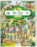 Cover-Bild zu Wandrey, Guido (Illustr.): Mein Wimmel-Mitmachspaß: Im Zoo