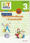 Cover-Bild zu Helmchen, Sabine: FiT FÜR DIE SCHULE. Das kann ich! Rechtschreibung + Grammatik 3. Klasse