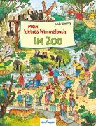Cover-Bild zu Wandrey, Guido (Illustr.): Mein kleines Wimmelbuch: Im Zoo
