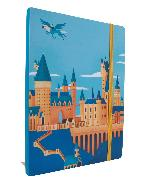 Cover-Bild zu Harry Potter: Exploring Hogwarts ? Castle Softcover Notebook von Insight Editions