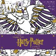 Cover-Bild zu Harry Potter: Winter at Hogwarts: A Magical Coloring Set von Insight Editions