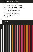 Cover-Bild zu Gouges, Olympe de: Die Rechte der Frau und andere Texte (eBook)
