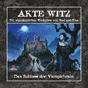 Cover-Bild zu Kremer, Rudolph Alexander: Akte Witz, Folge 1: Das Schloss der Vampirbraut (Audio Download)